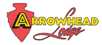 Arrowhead Lodge logo.