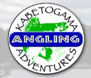 Kabetogame Angling Adventures logo.