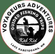 Voyageurs Adventures logo.
