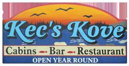 Kec's Kove logo.